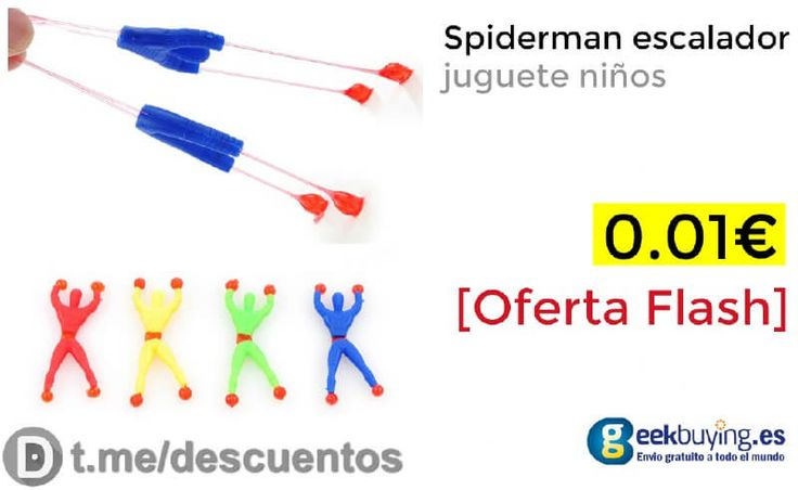 Juguete Spiderman escalador disponible por solo 001 - http://ift.tt/2y1Jd4O