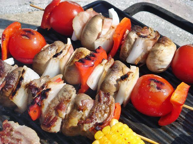 Nem vagyok mesterszakács: Flekken, fajita csirkemell, borjúnyárs, színes zöl...