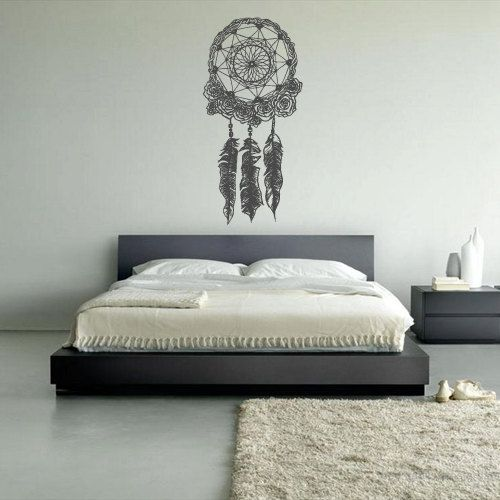 Wall Decal Vinyl Sticker Decals Dream Catcher Dreamcatcher Bedroom (z1372) on Etsy, $27.99