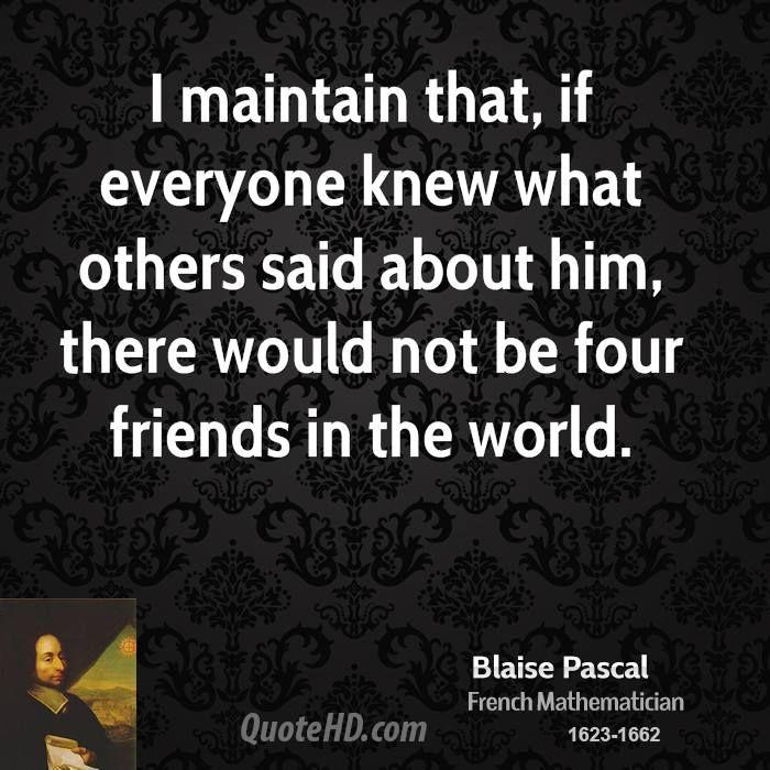 26 best Pascal Blaise images on Pinterest Blaise pascal quotes - calculer le prix de sa maison