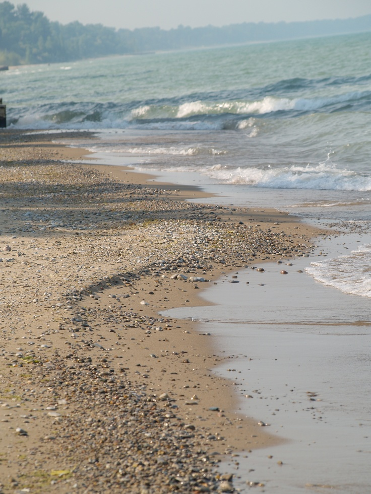 Our private beach Grand Bend, ON