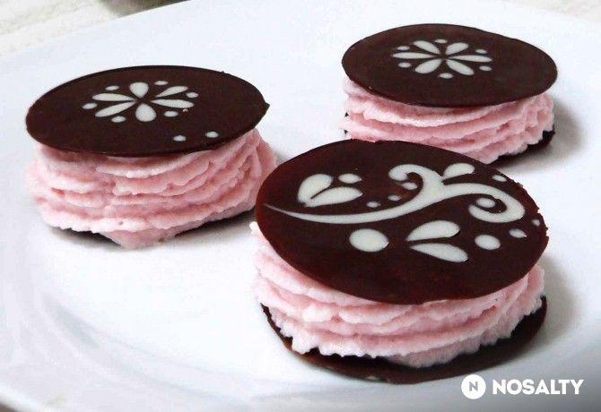 Gyümölcshabos csokiburgerek