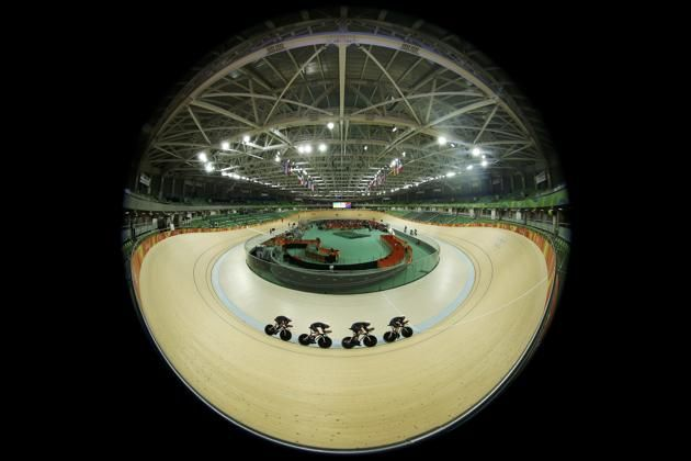 2016 Rio Olympics - Cycling Track - Team training