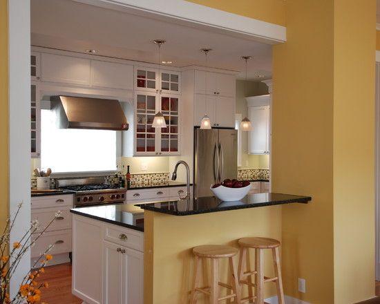 Walk Through Kitchen Remodel - Kitchen Design Ideas