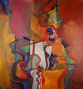 Roberto Burle Marx - Sem Título (1985)