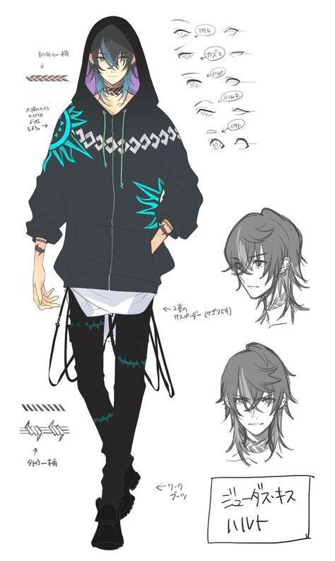 いとーのいぢ On2019 19 資料 男 髪型 イラストアニメの