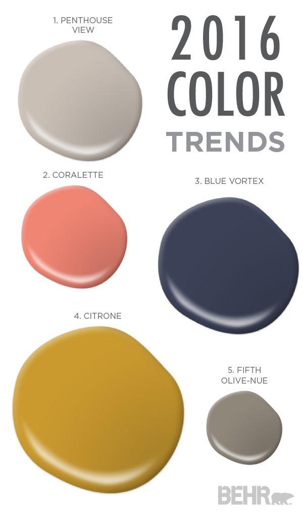 104 best behr 2016 color trends images on pinterest color trends design projects and paint colors. Black Bedroom Furniture Sets. Home Design Ideas