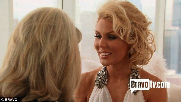 Real Housewives Gretchen Rossi Pops Question After