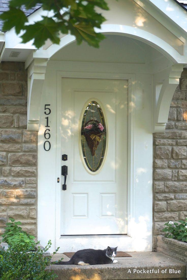 Love The Overhang Above The Front Door Gardening