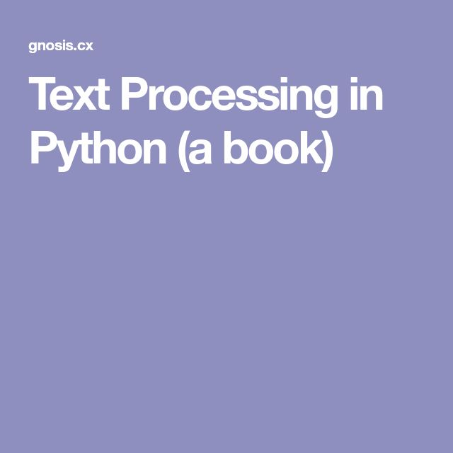 32 best python programming images on pinterest python programming text processing in python a book fandeluxe Image collections