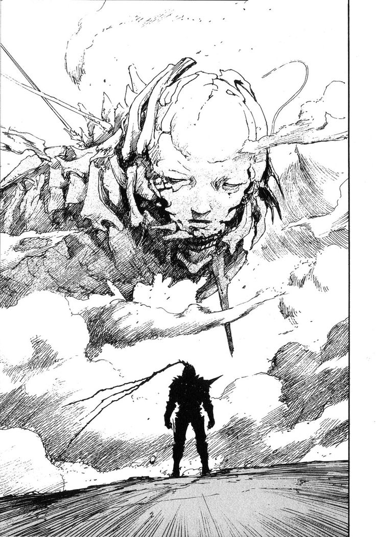 Abara (meaning ribs in English) by Nihei Tsutomu