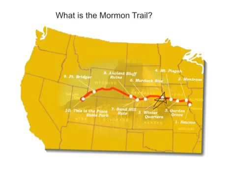 Visit the Mormon Trail Center - YouTube