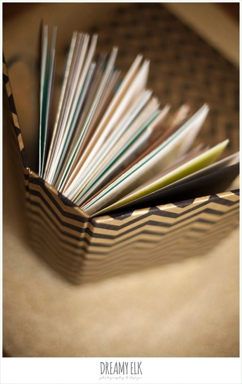 turn your wedding cards into a book {diy}
