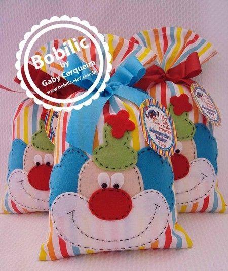 Surprise baggie little clown