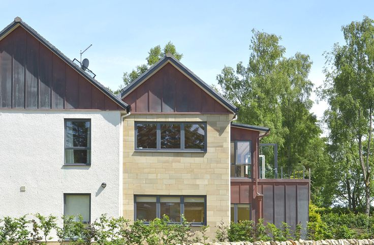 Built using high quality materials of natural slate roofing, sandstone walling and copper cladding