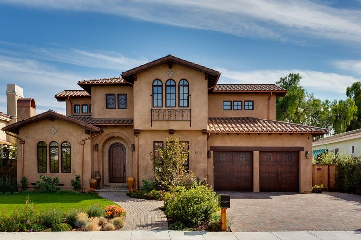 spanish style homes | Beautiful custom Spanish style home in Cupertino