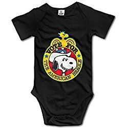 Baby Onesie Snoopy For President Vote Short Sleeve Outfit Bodysuit