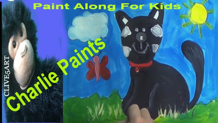 Painting Drawing & Coloring for Children This is a full step by step learn your ABC kids Acrylic Painting with CHARLIE THE Chimp and is easy to follow in acrylics let #CLIVE5ART show you step by step how an a Draw Color Paint Black Cat Coloring Page    Thanks to Rev Mark King And Susan Marie English Mason  Alan Tamsett for their support in my producer level on Patreon  Become a Patreon  @:- http://ift.tt/1fGAoUD  Some Drawings can be found at  http://ift.tt/1ZiMWlf  Artwork is the property…