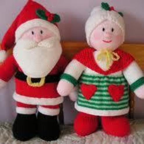 Santa Claus and his Mrs! £12.99