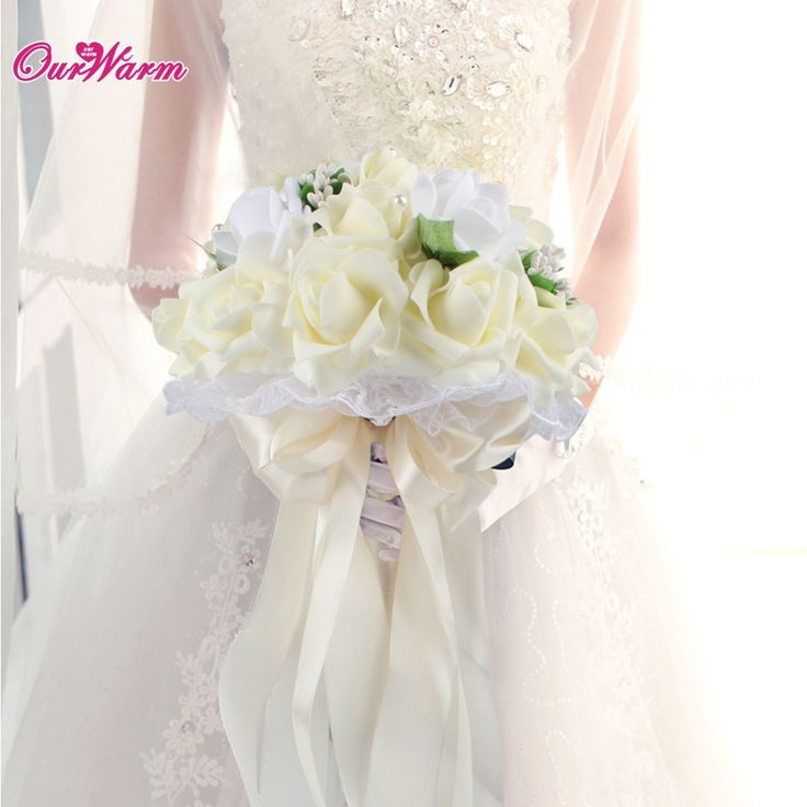 Price: $12.50 Like and Share if you want this     Get it here ---> https://www.yamidoo.com/foam-rose-bouquet-artificial-flower-bride-bridesmaid-holding-flower-with-lace-silk-ribbon-diamante-pearls-for-wedding-decoration/    #accessories