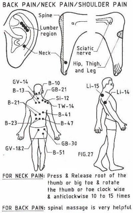 WIN! the one for neck pain worked lovely. - Pressure points for pain relief