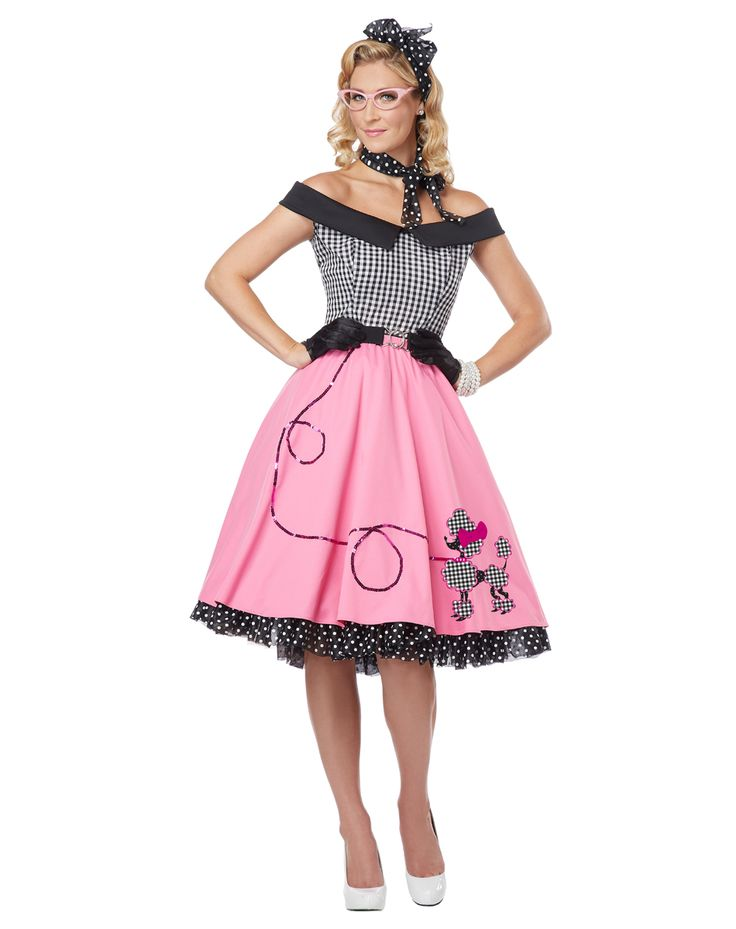 pink 50s favor | Halloween Costumes / Adult Costumes / Womens Costumes / New for 2013 ...