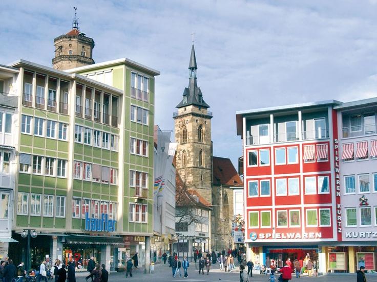 Schön bunt: Marktplatz Stuttgart