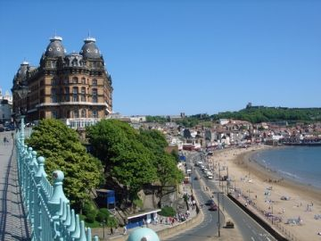 Scarborough, Yorkshire, UK.  Where Granny lived.  Lots of childhood memories.