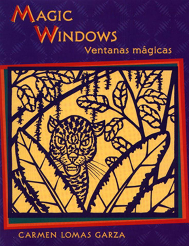Magic Windows - câștigătorul anului 2000 pentru ilustrații Ilustrator: Carmen Lomas Garza.