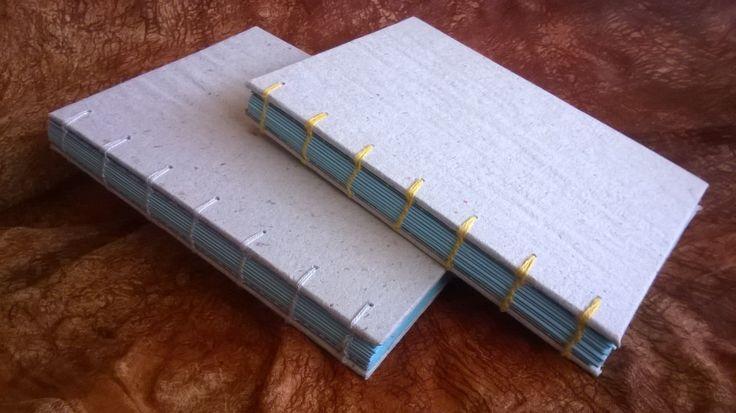 Kannet päällystetty itse tehdyllä paperilla. 2016.