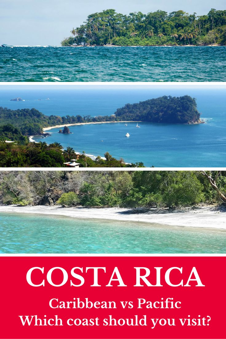 Which coast should you visit in Costa Rica? Read our guide to find out the similarities and differences between the Caribbean and Pacific coast: https://mytanfeet.com/costa-rica-travel-tips/differences-between-the-caribbean-and-pacific-coast-of-costa-rica/ Costa Rica | Costa Rica travel tips | Costa Rica beaches