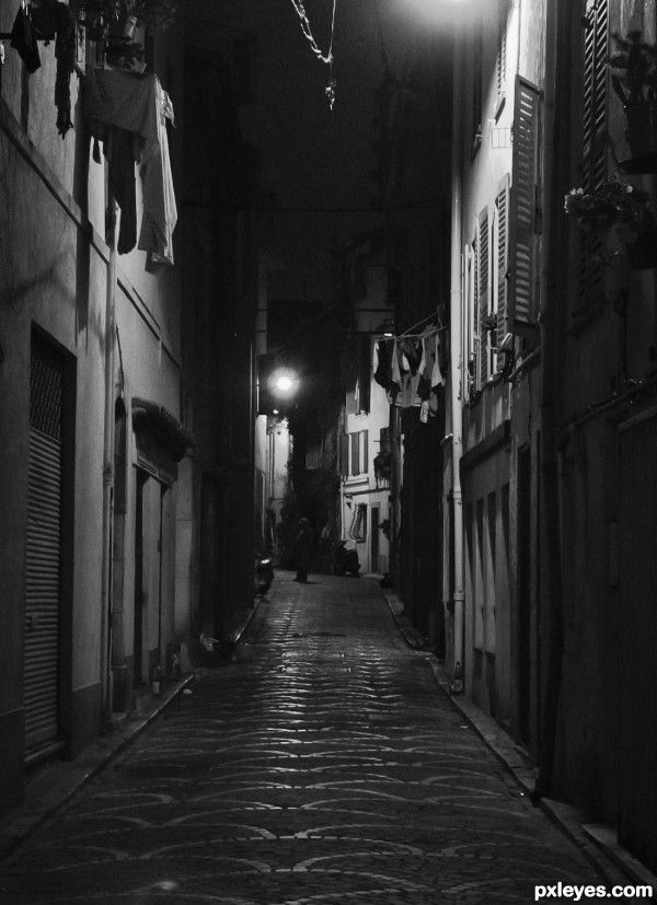Night Street By Friiskiwi Dark Amp Mysterious Pinterest