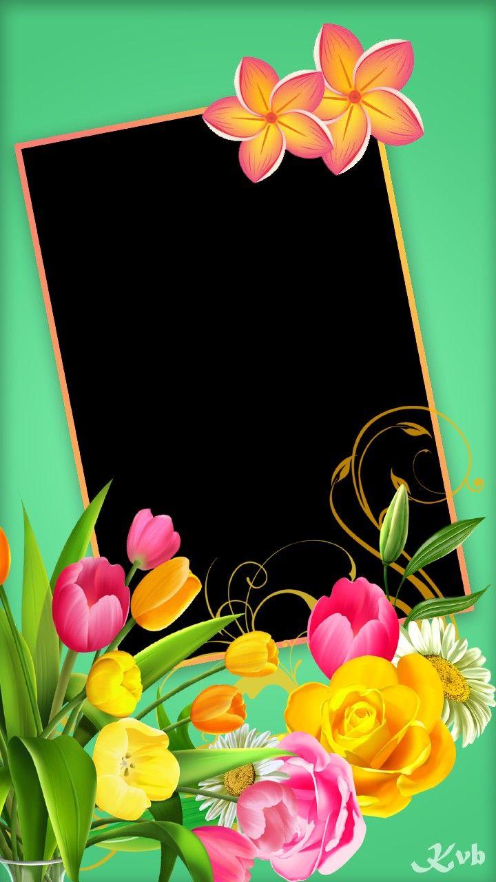 اطار للكتابه عليه جميل جدا Book Flowers Flower Frame Clip Art Borders