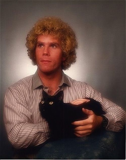 Portrait, With Cat