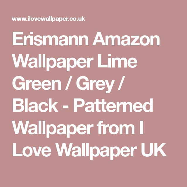 Green Patterned Wallpaper from I Love Wallpaper