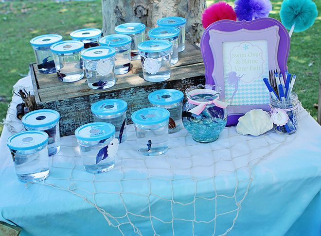 710 best fish themed birthday party images on pinterest for Fish party supplies