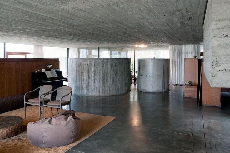Juliaan Lampens - Architecture - Domus - Vandenhaute-Kiebooms house (1967)