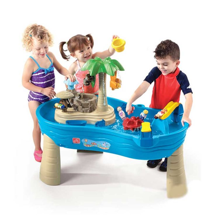 Tropical Island Resort Sand and Water Table