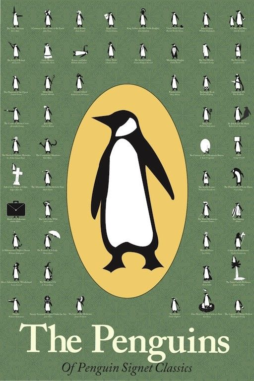 Penguin Book Covers Poster : Best images about penguins in art on pinterest happy
