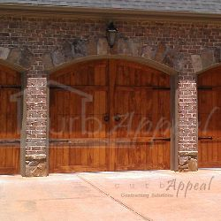 Best 25 carriage doors ideas on pinterest garage door for Garage door refacing