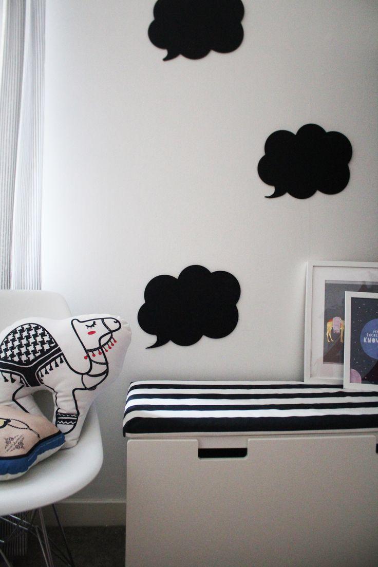 MATTE BLACK, 7 PLACES TO USE IT IN YOUR DECOR  #matteblack #homeinspiration, #blackdecor, #monochrome, #childrensrooms #kidsrooms #homeinspi #decorinspo #ikeastuva #stuva #ikea #eames