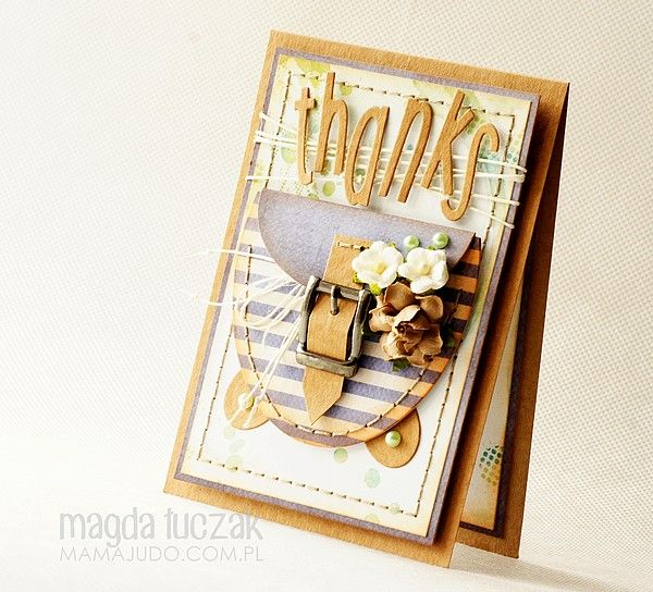 Card by Mamajudo / Offshore paper collection by P13