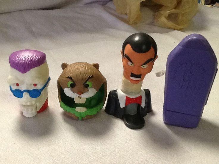 Complete Set Of 4 Halloween Goosebumps Taco Bell Kids