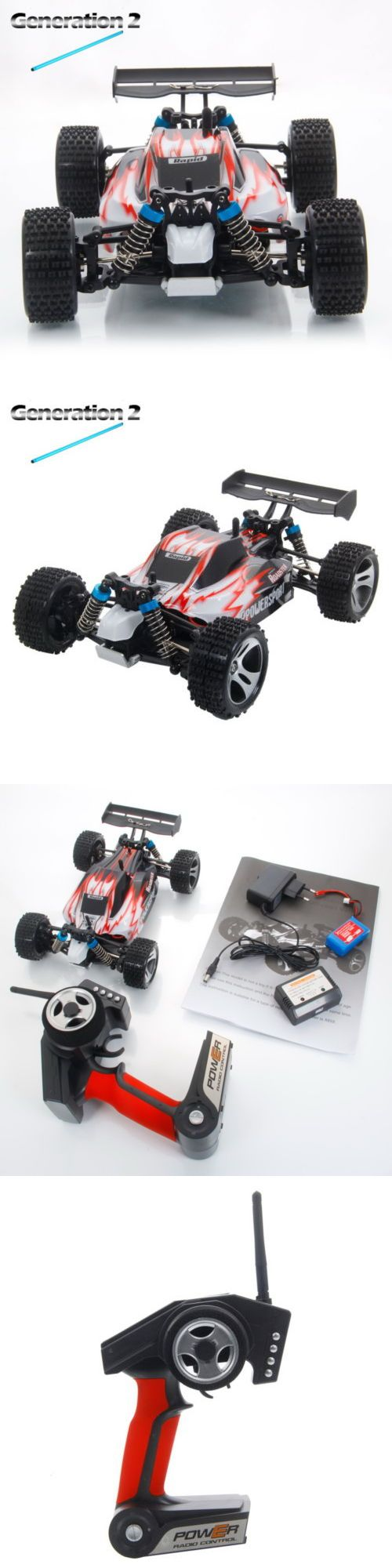 Cars Trucks and Motorcycles 182183: Upgrade Wltoys A959 2.4G 1 18 Vortex 4Wd Electric Rc Car Off-Road Buggy Rtr Red -> BUY IT NOW ONLY: $36.99 on eBay!