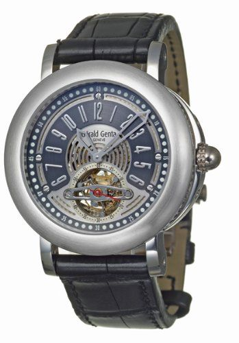Review Gerald Genta Arena Tourbillon Men's Automatic Watch ATR-Y-75-913-CN-BD By Gerald Genta | REVIEW WATCHES PRODUCTS