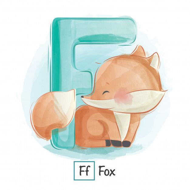 Alfabeto Animal F Animal Alphabet Letters Animal Alphabet Lettering Alphabet