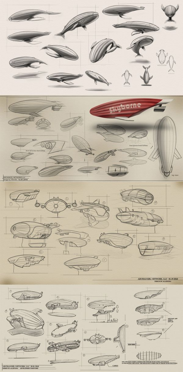 airship ✤ || CHARACTER DESIGN REFERENCES | Find more at https://www.facebook.com/CharacterDesignReferences if you're looking for: #line #art #character #design #model #sheet #illustration #expressions #best #concept #animation #drawing #archive #library #reference #anatomy #traditional #draw #development #artist #pose #settei #gestures #how #to #tutorial #conceptart #modelsheet #cartoon #blueprint #planes #Flyng #machines #airship #spaceship @Rachel Oberst Design References