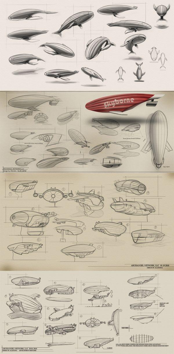 AIRSHIP ARCHANGEL ideation