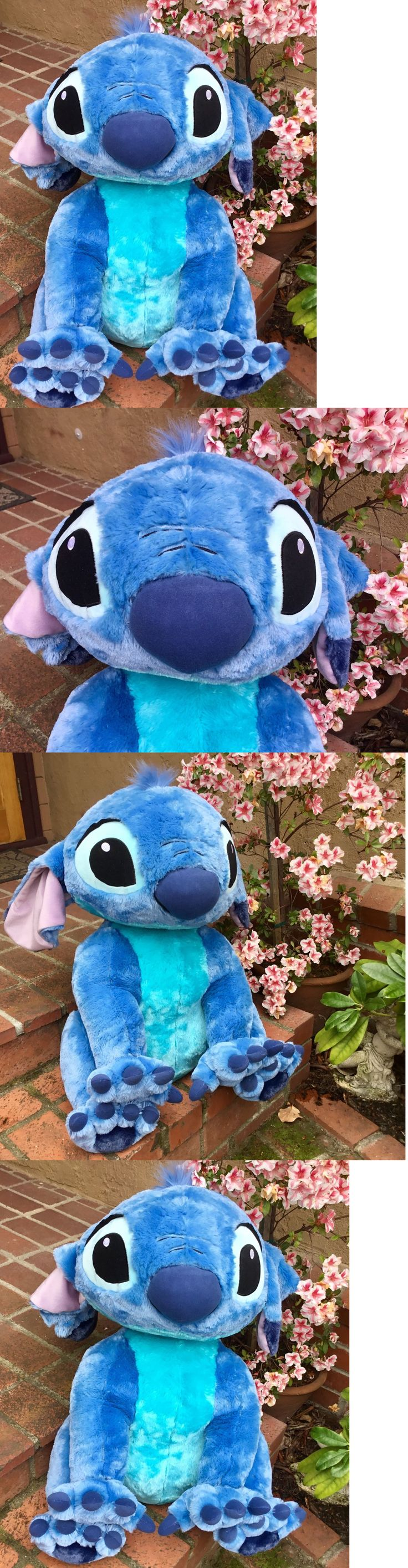 Lilo and Stitch 44035: Supersized!! 31 Nwt Euro Disney Store Lilo And Stitch Plush Stuffed Doll Soft Toy -> BUY IT NOW ONLY: $184.99 on eBay!