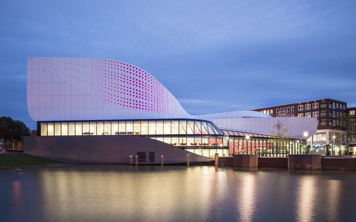 UNStudio-designed theater de stoep to open in the netherlands - designboom | architecture